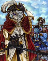 Skyward Pirates- Confronting the Phantom Captain by MissPeridot