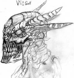 Vicsol Novel Art by Iron-Fox
