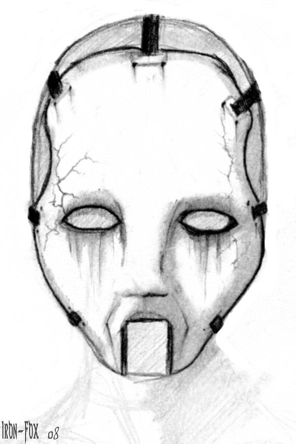 Doll Face Mask By Iron Fox On Deviantart