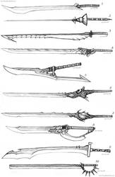 Sword Designs 4 by Iron-Fox