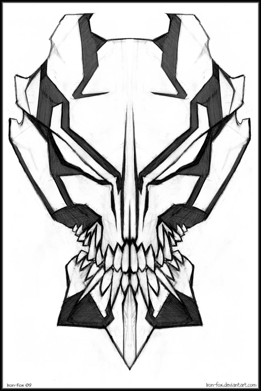 Zero {DONE} {Evil-Fuck Vizard} Vizard_mask_design_by_Iron_Fox