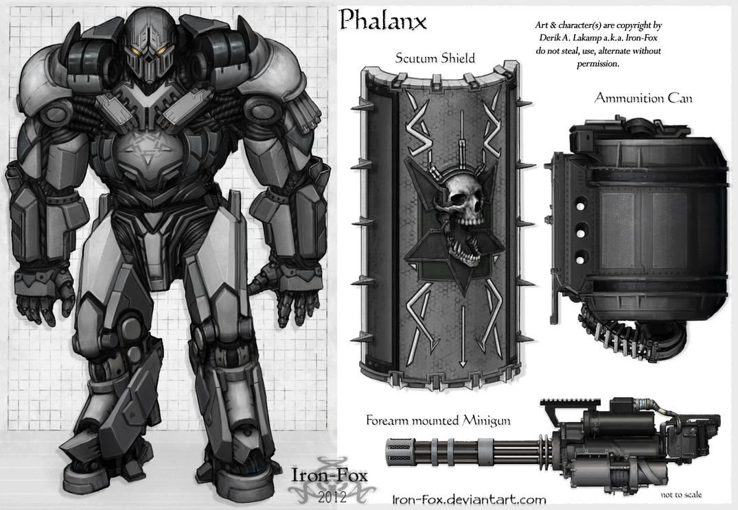 Phalanx by Iron-Fox