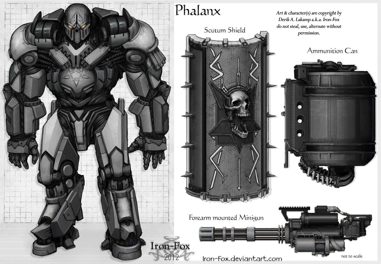 Phalanx by Iron-Fox