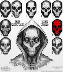 2012 Halloween Mask Design