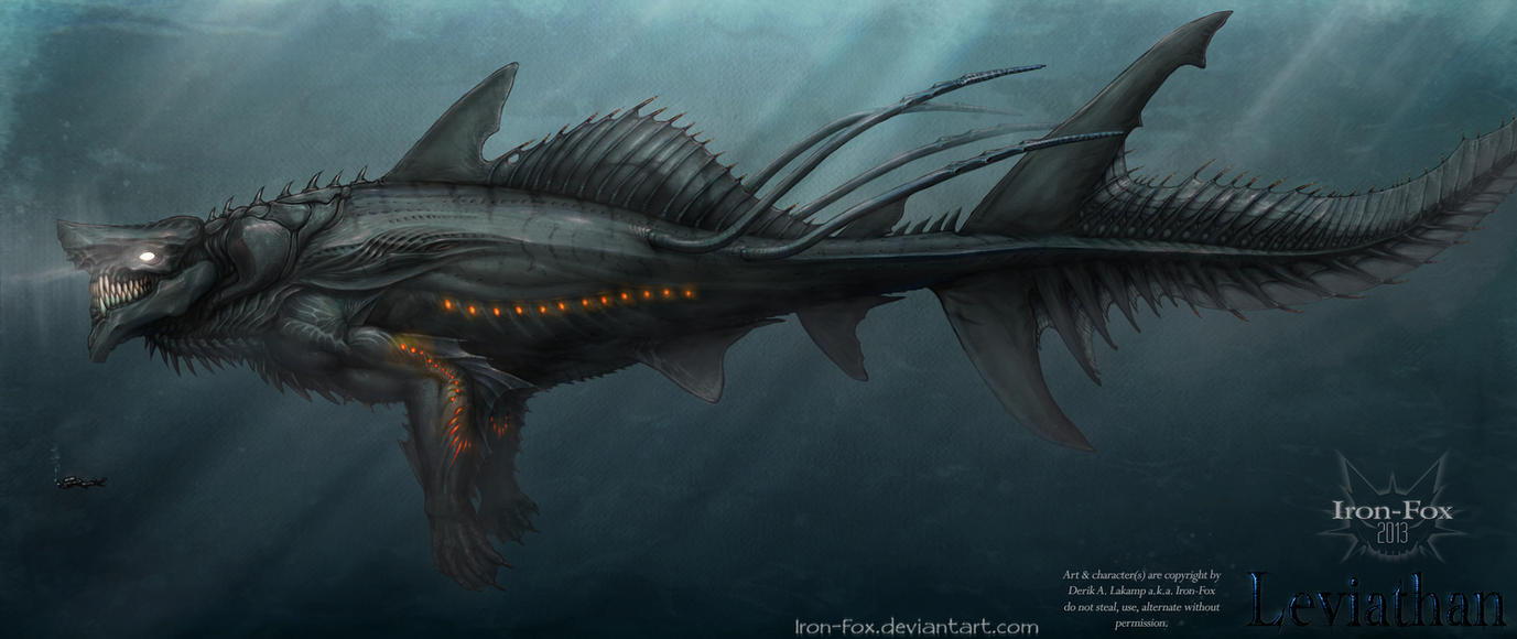 March 25th Leviathan Sketchdaily