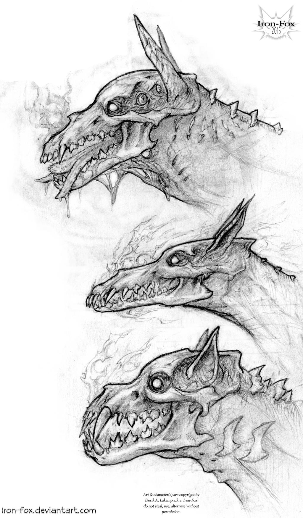 Hellhound Variants By Iron-Fox On DeviantArt