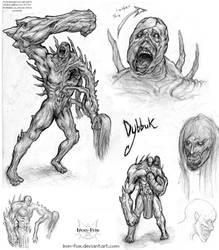 Dybbuk - concept
