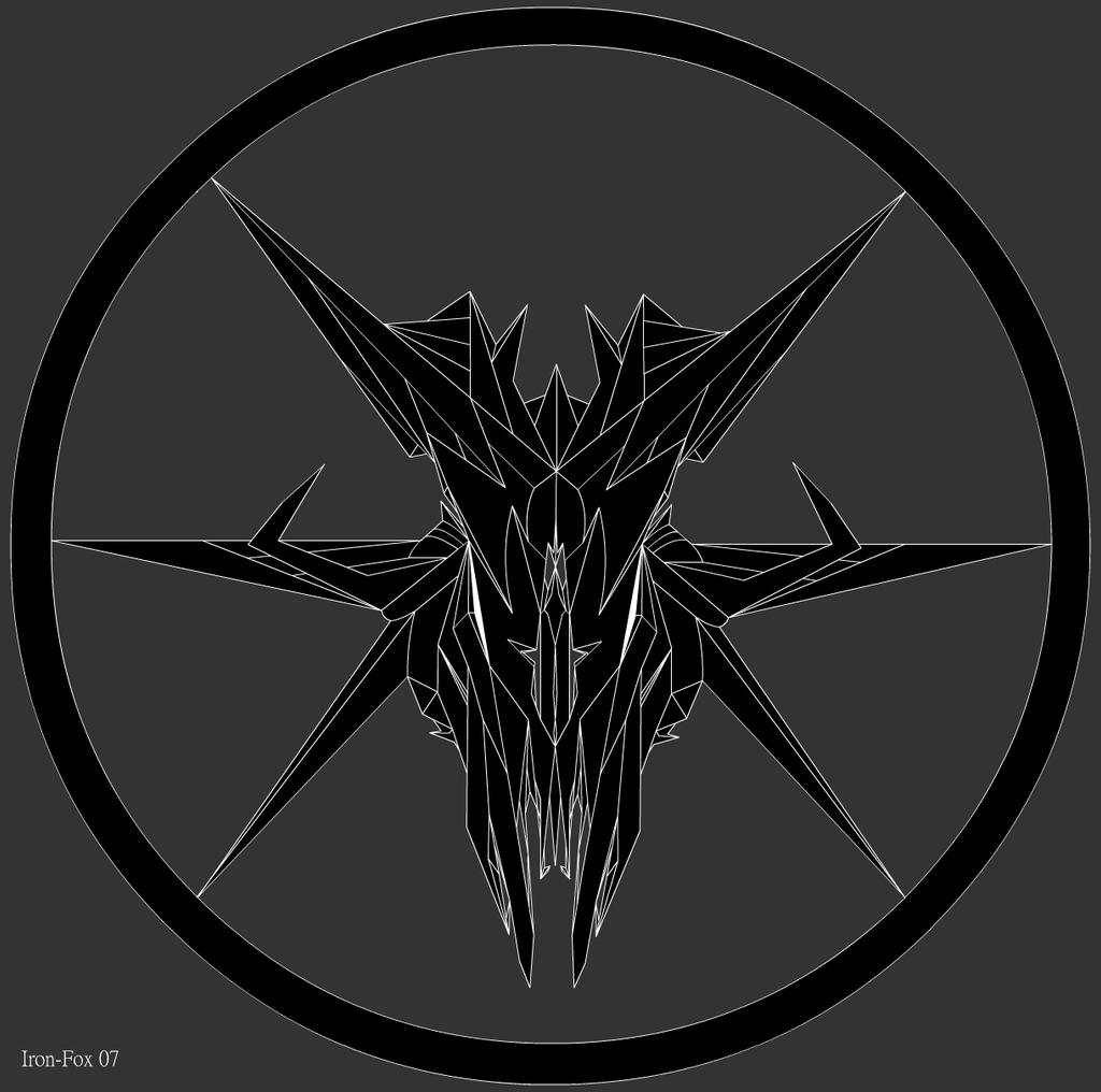 Satanic Wolf Symbols
