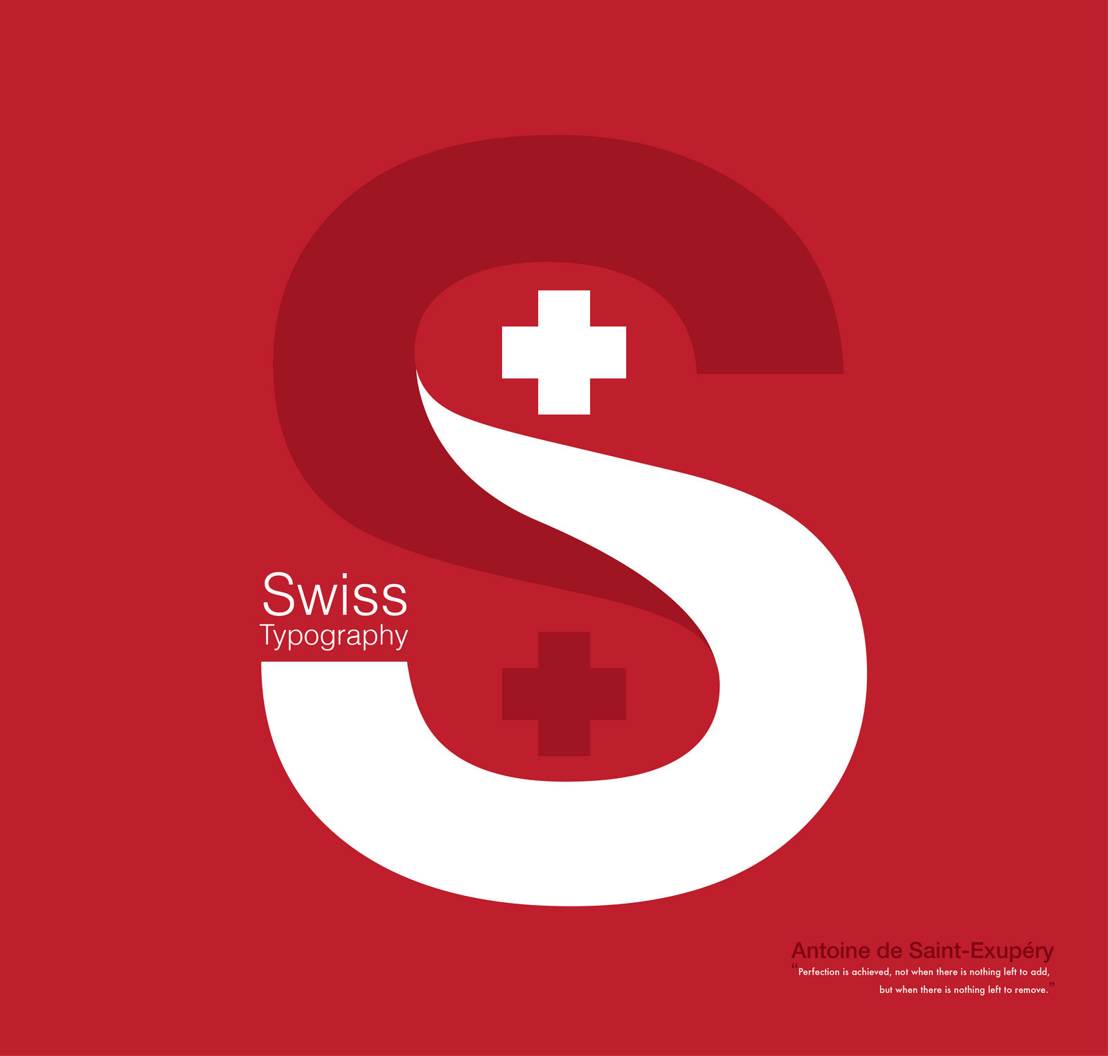 Typography Swiss Graphic Design