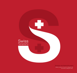 Swiss typography poster by Oemich