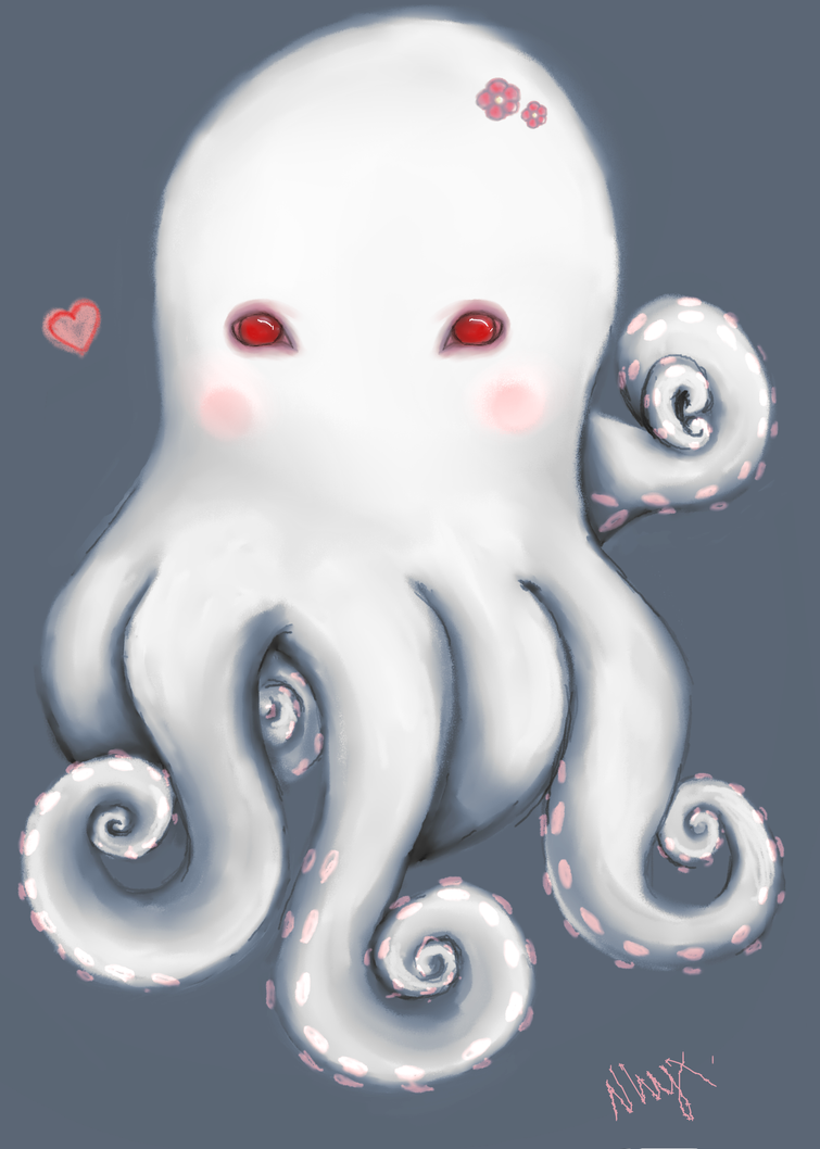 White Octopus~ by iNhyx