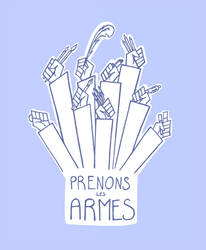 Prenons les armes by Hellypse