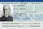 French ID Card : Nathaniel
