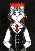 ACEO - La Dame de Sang by Hellypse
