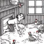Inktober 5 - Chicken