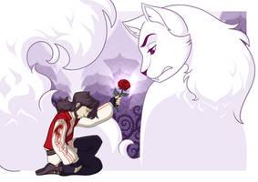 Le Conte a la Rose de l'Avent by Hellypse
