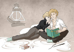 COM - Grindelwald and Dumbledore by Hellypse