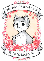 Valentine ACEO 2019 by Hellypse