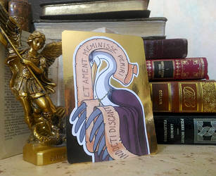 ACEO - Saint Heron by Hellypse