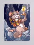 ACEO - Fanart Ghost of a Tale - Tilo by Hellypse