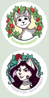 Feline stickers