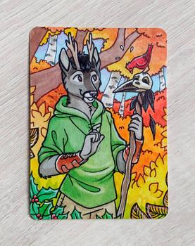 ACEO - Hawthorn for Fenrynn