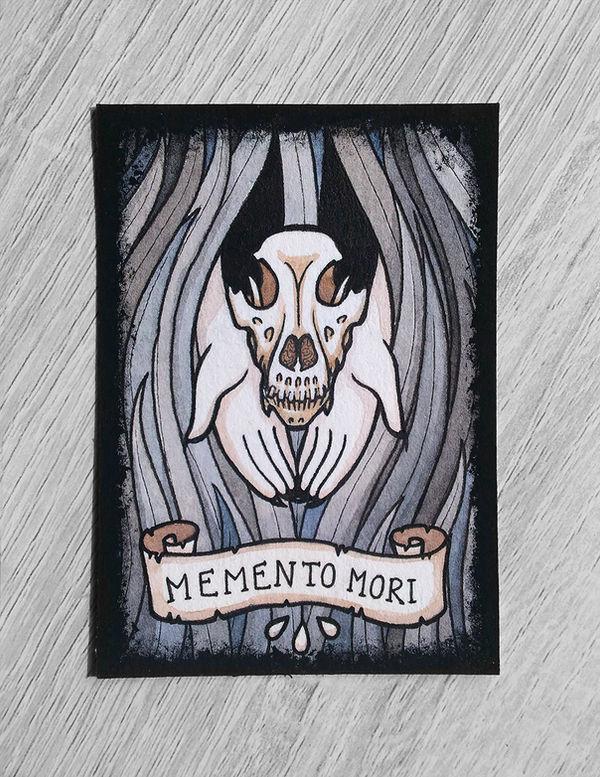 ACEO - Memento Mori