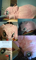Life Size Fluffle Puff Plush by SH-Artwork