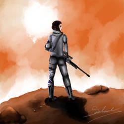 Sniper by Seschare