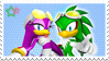 Jet and Wave Stamp by 13VOin
