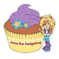 Food sticker. Anna by 13VOin