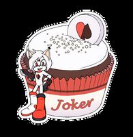 Comm. Food sticker. Joker by 13VOin