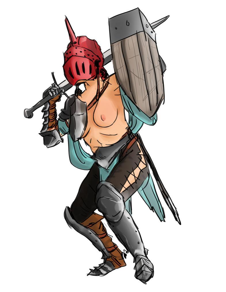 Female Knight by jlta