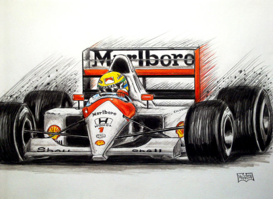 Ayrton Senna tribute by Xpendable