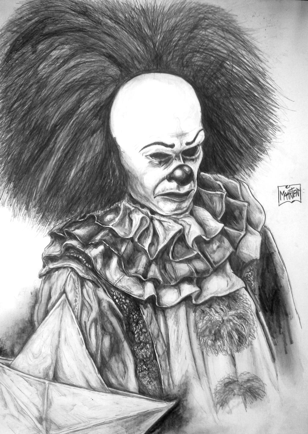 Pennywise the Clown IT by Xpendable on DeviantArt