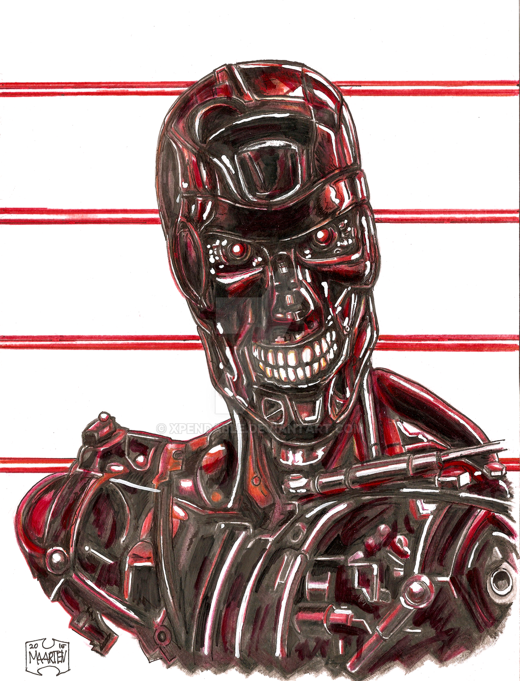T800 -workcamp- by Xpendable