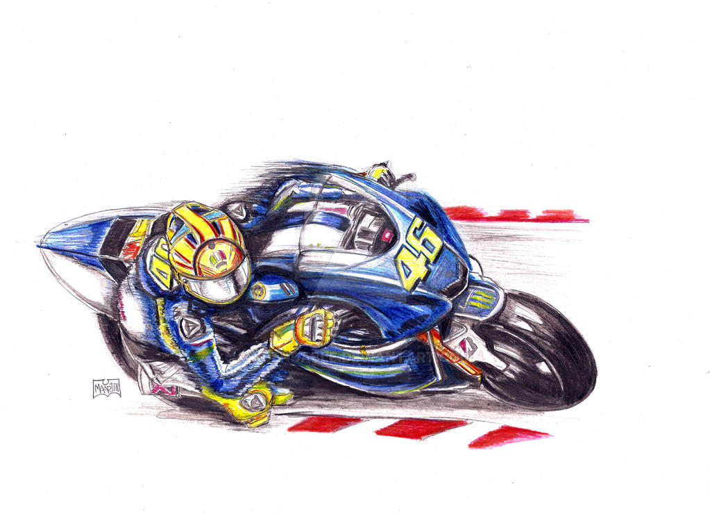 Valentino Rossi by Xpendable on DeviantArt