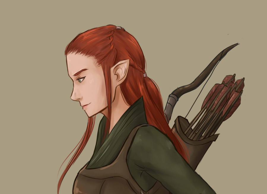 Tauriel and legolas fanfiction and tauriel anyway