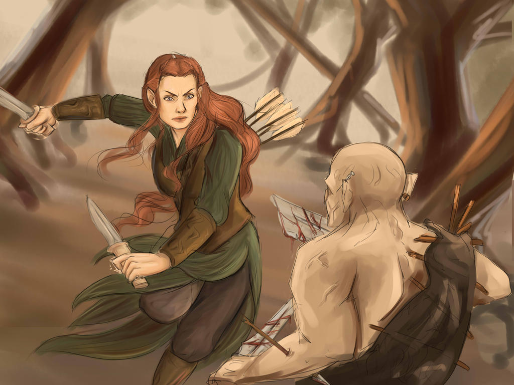 The Battle of Mirkwood (WIP) by sukieblackmore