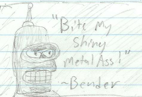 Bender the Bending Robot by cerberus144