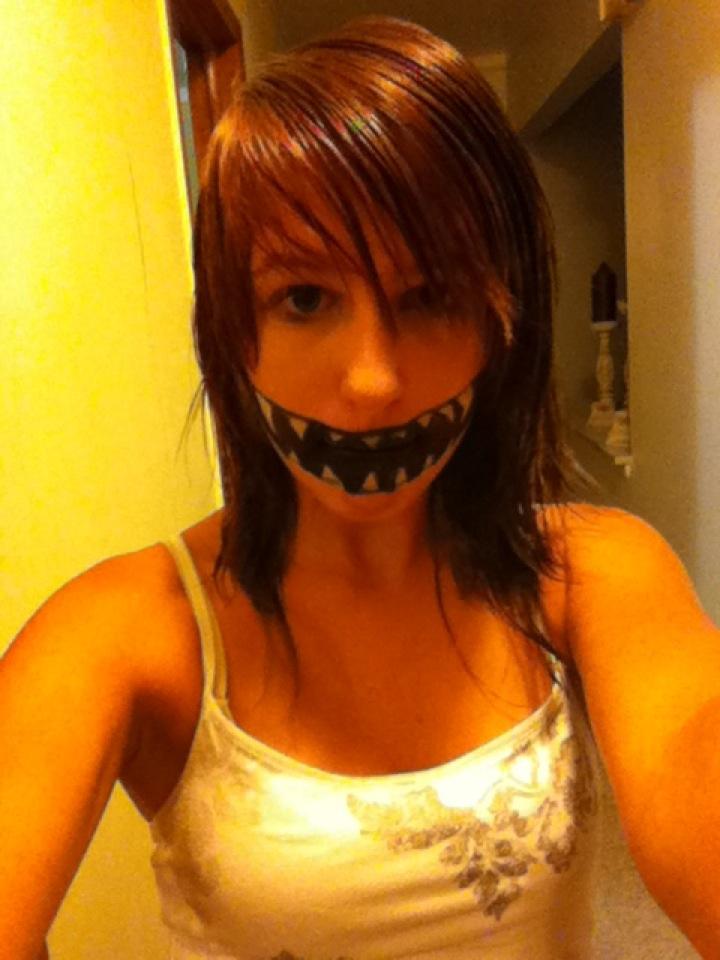 monster mouth make up by silentvikki on DeviantArt