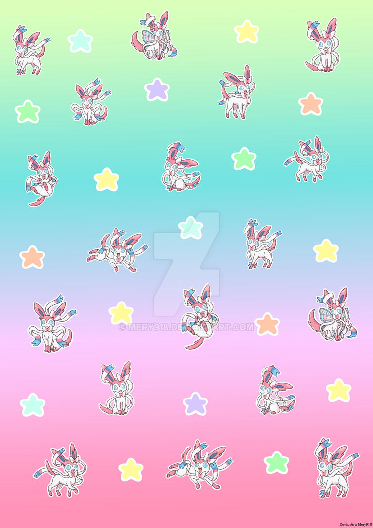 Pokemon Wallpaper Sylveon By Mery918