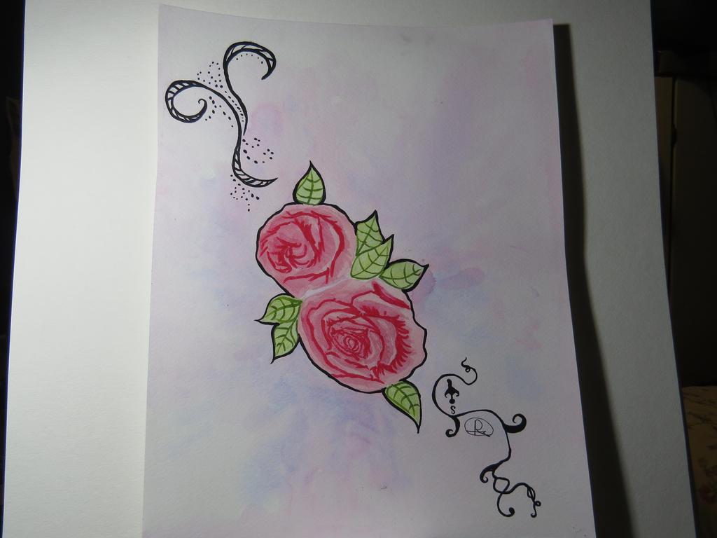 Rose design by MysticForgotten