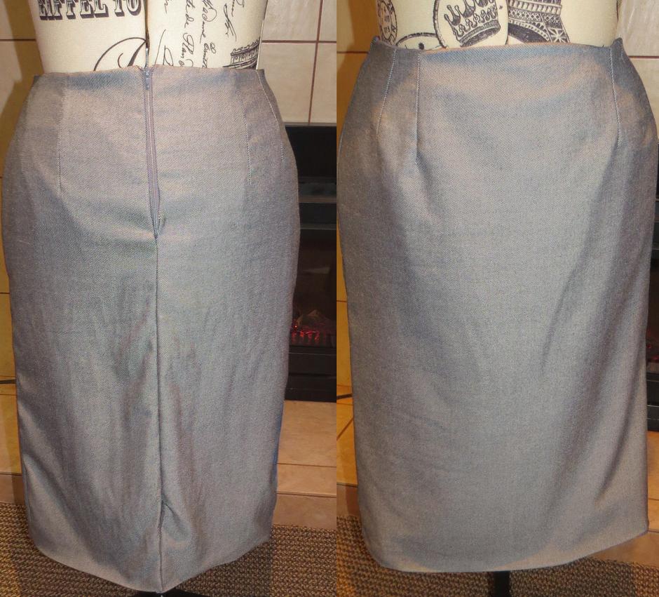 Pencil Skirt by MysticForgotten