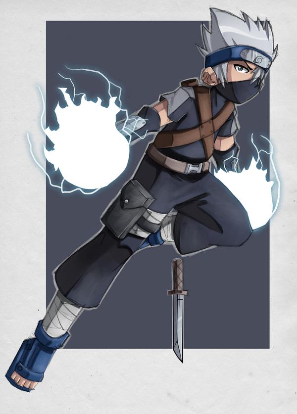 Chidori Lightning Blade by bigsheezy
