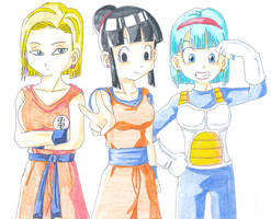 Desperate DBZ Wives. by Glee-chan