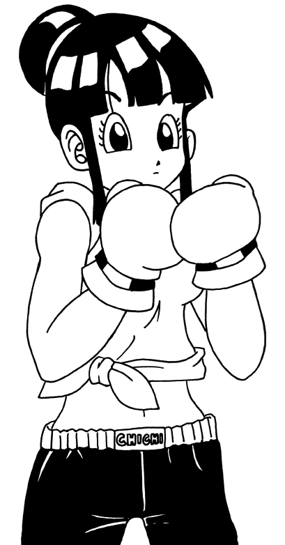 Imagenes de chicas de dbz boxer xD Chi_Chi_Boxer_by_Glee_chan
