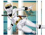 Kakuranger Ninja White