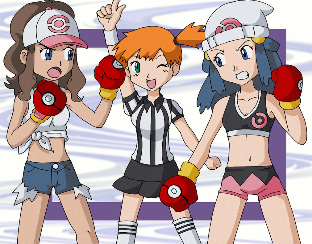 Pokemon Boxing by Glee-chan
