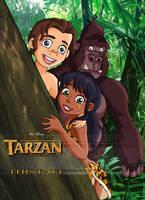 Son of Tarzan - Ad by Glee-chan